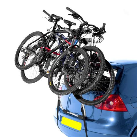 Halfords Bike Rack Fitting halfords rear rack high mount bike bicycle holder 3 cycle carrier fitting ebay