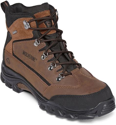 wolverine hiking boots wolverine spencer mens waterproof hiking boots
