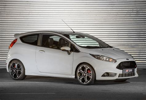 fords limited edition fiesta st     sa