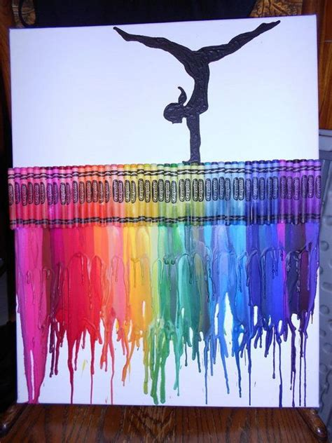 painting crafts 30 cool melted crayon ideas hative
