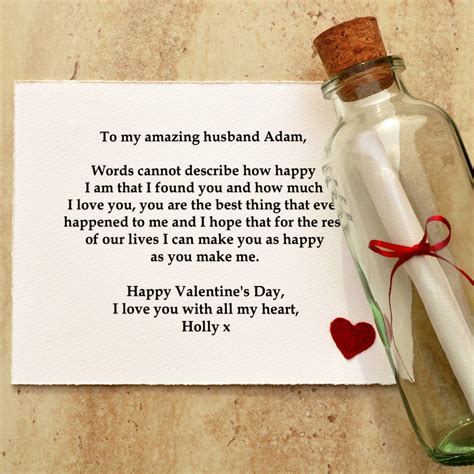 message in a bottle valentines gift valentines day gift message in a bottle by arnott