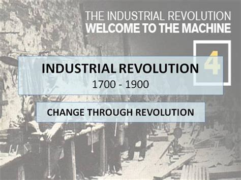 industrial revolution powerpoint template industrial revolution authorstream