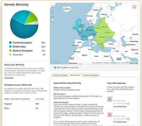 ancestry dna results cruwys news august 2012