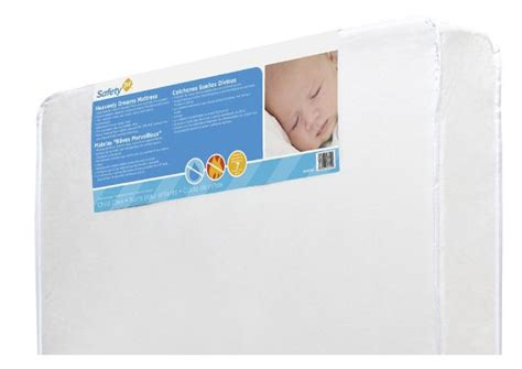 Safety 1st Heavenly Dreams White Crib Mattress Review by 8 Best Baby Mattresses Foam And Crib Reviews