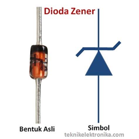 zener diode adalah pengertian prinsip kerja dan fungsi dioda zener
