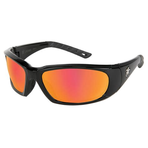 most comfortable safety glasses crews forceflex 3 safety glasses black frame fire