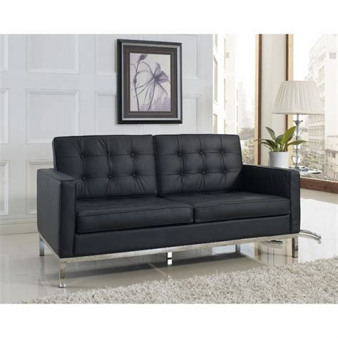 knoll loveseat florence knoll two seat loft sofa sectional couch