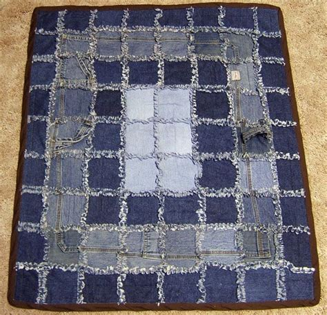 Jean Quilt Pattern by 1000 Images About Blue Jean Rag Quilt On