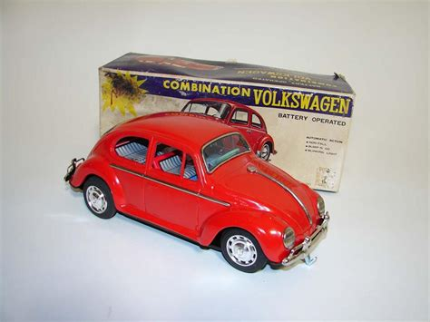 neat  volkswagen beetle battery operated pressed st
