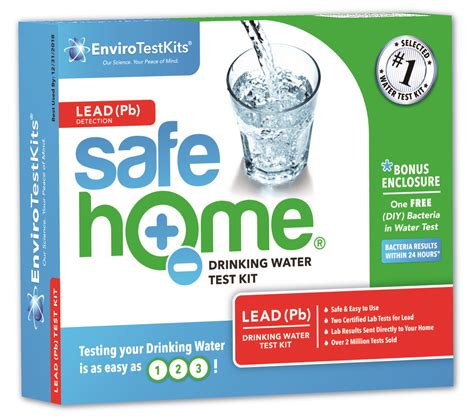 safe home 174 lead water test kit
