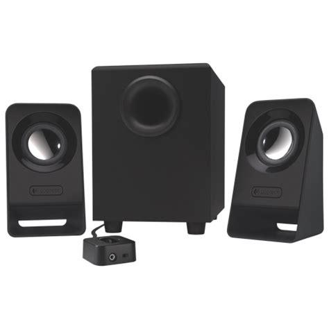 Logitech Multimedia Speaker Z213 Black 3 logitech z213 multimedia speakers with subwoofer black computer speakers best buy canada