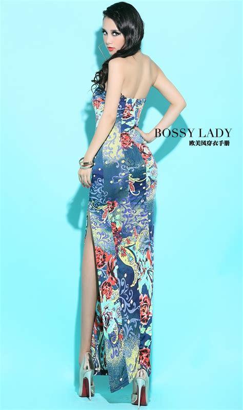 Dress Import Blue silk dress ds3922 blue tamochi