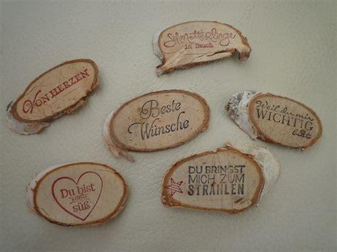 Holz Dekoration Hochzeit by Holz Stempelpalette