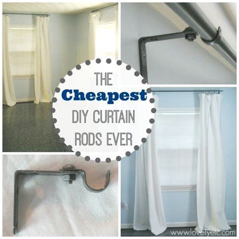diy extra long curtain rod 41 best images about curtain rods track systems on pinterest