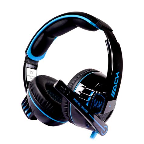 Headset Gaming Kotion Each G6200 Led With Usb 71 Surround Vibrate kotion each g6200 rexus official store