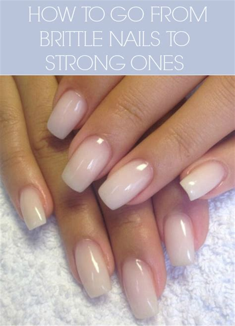 Nail Work by How To Grow Stronger Nails Tips That Work The Dumbbelle