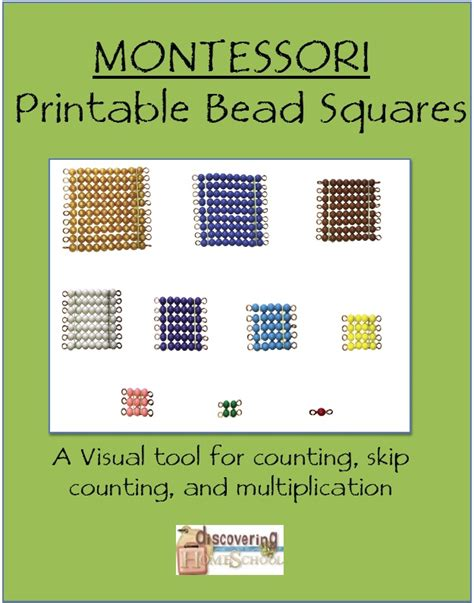montessori beads printable 17 best images about montessori on pinterest montessori