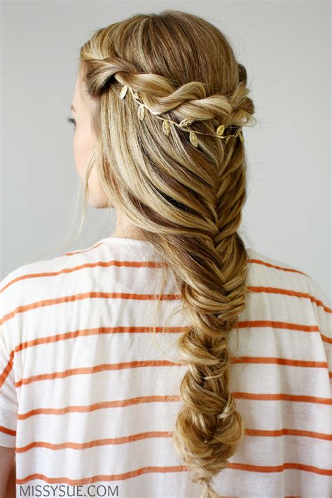 5 double fishtail braids braid love pinterest teen 3 back to school hairstyles