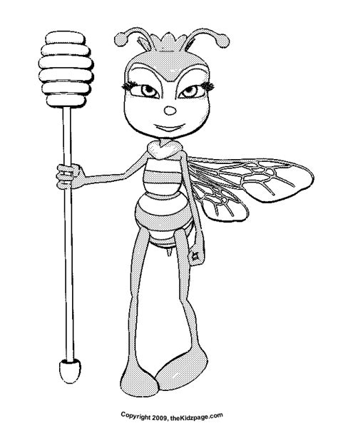 queen bee coloring page honey bee queen free coloring pages for kids printable