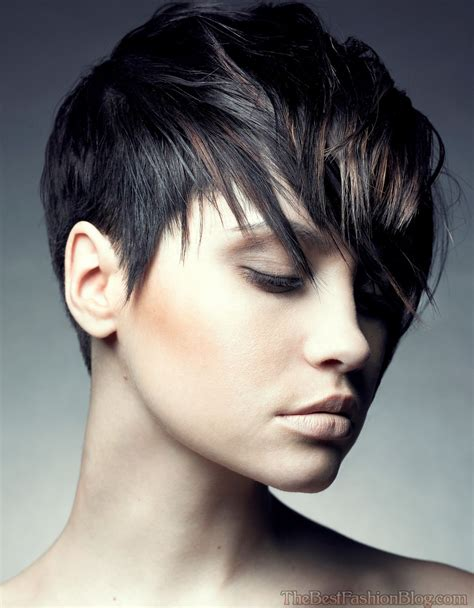 modern shaggy haircuts 2015 modern short black shaggy hairstyles for women long