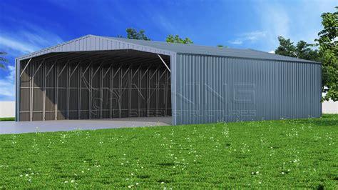 Enclosed Steel Carport 38x61 Enclosed Steel Carport