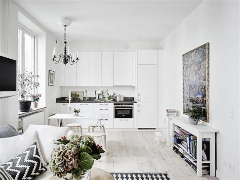 scandinavian apartment scandinavian studio apartment with bright white interiors