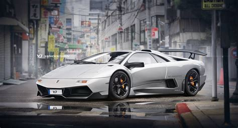 lamborghini murcielago back lamborghini diablo goes back to the future with a 21st