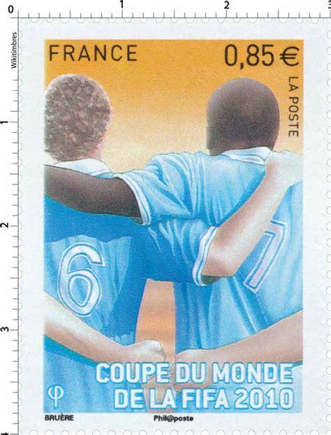 timbre 2010 coupe du monde de la fifa wikitimbres