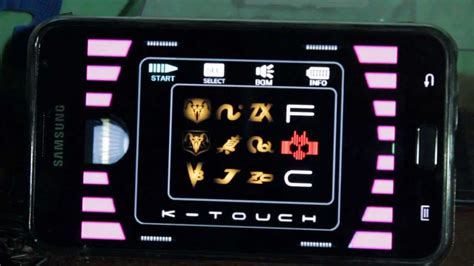 K Touch k touch kamen rider decade para android hd