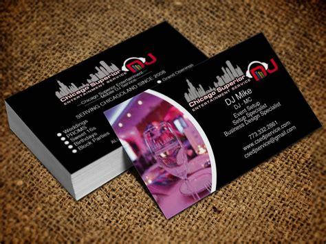 entertainment business card template free dj entertainment business cards gallery card design and