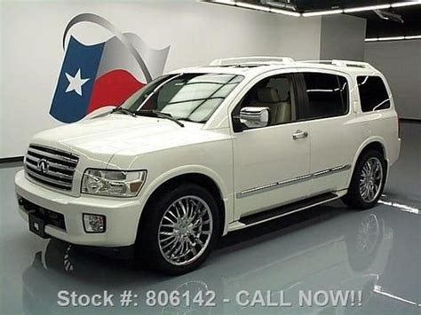 manual cars for sale 2007 infiniti qx56 electronic toll collection find used 2007 infiniti qx56 sunroof nav dvd rear cam 22 s 72k mi texas direct auto in stafford