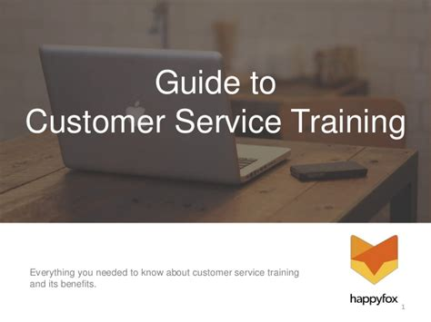 service trainer a guide to customer service