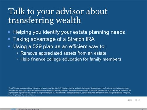section 529 plan contribution limits wealth management strategies seminar