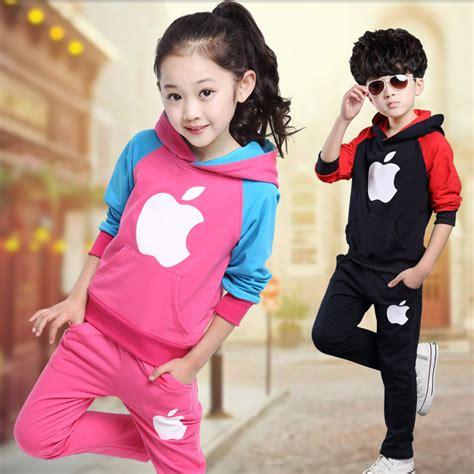 kids clothing canada boys girls clothing aliexpress com buy fashion kids sport suit winter