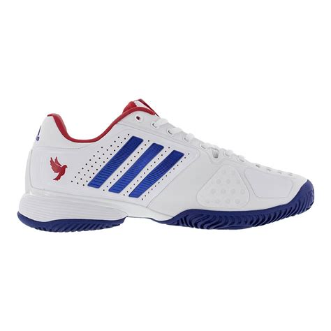pro sports shoes adidas s novak pro tennis shoes white and royal blue