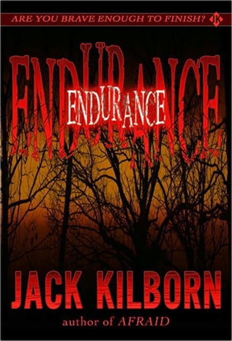 endurance books endurance afraid 3 by kilborn reviews