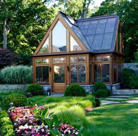 10 green home design ideas rustic modern greenhouse decoist