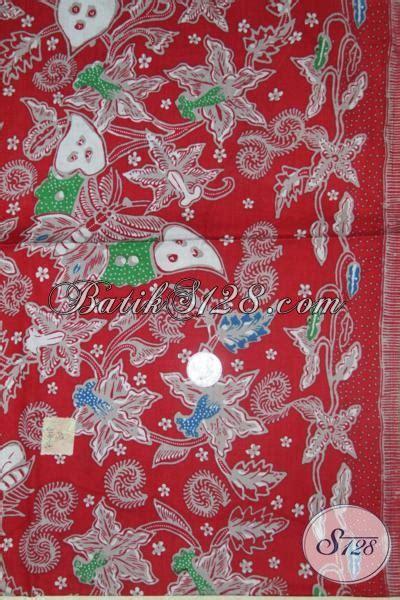 Topi Untuk Perempuan Warna Merah kain batik cantik trendy warna merah untuk bahan busana