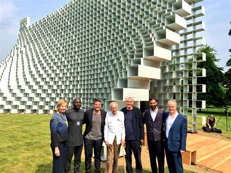 Courtyard Plans 2016 Serpentine Pavilion By Bjarke Ingels Big