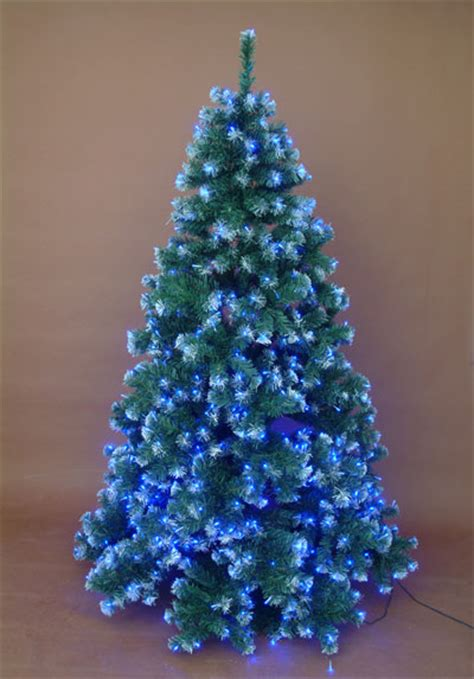 white led tree lights white tree with blue led lights holidays