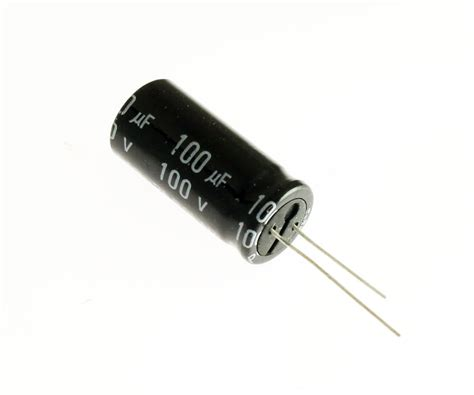 radial bipolar capacitor 8x 100uf 100v radial electrolytic audio capacitor 100vdc bipolar non polarized ebay
