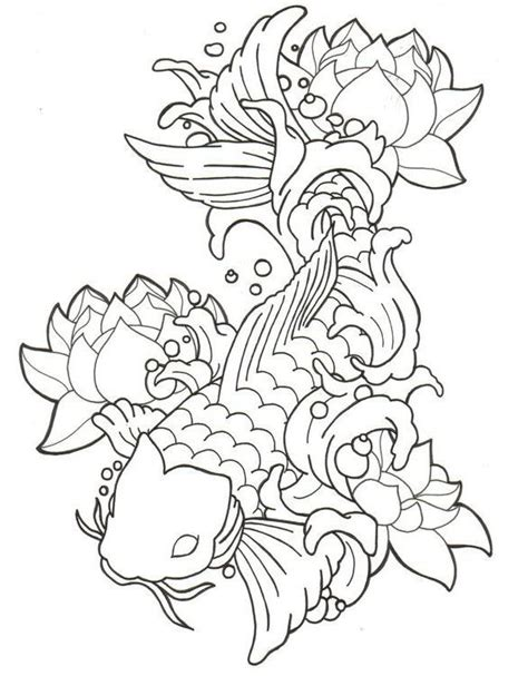 koi fish drawing koi and fish drawings on pinterest