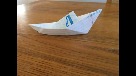 Origami Speed Boat - origami fishing speed boat