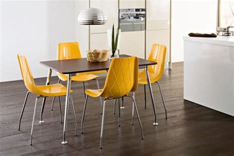 Contemporary Chairs For Dining Room Dining Room Chairs With A Matching Dining Table Trellischicago