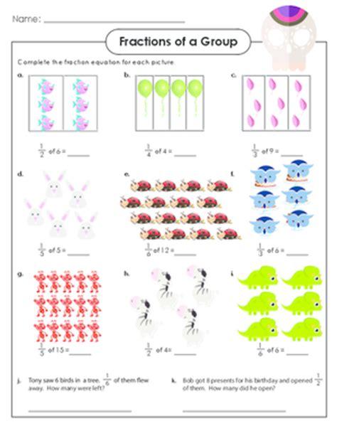 fraction of a set grade fractions practice archives kidspressmagazine