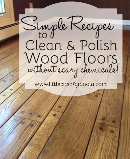 DIY Wood Floor Cleaner and Polish   Kristy's Cottage
