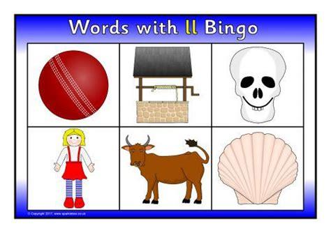 words  ll bingo sb sparklebox
