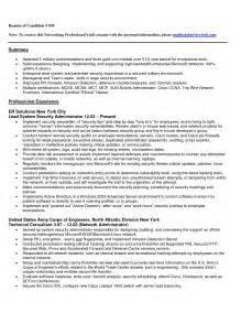 ccna resume exles student resume template
