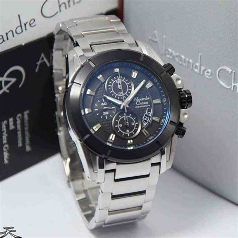 Alexandre Christie Ac6226 Original jual alexandre christie ac 6226mc white steel black