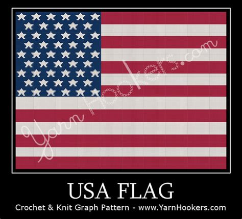 pattern finding in c united states of america usa flag afghan crochet